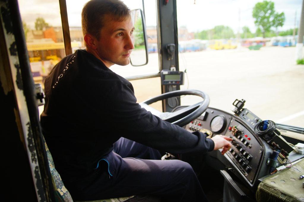 Обучение на водителя троллейбуса