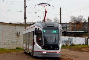 Экскурсия в трамвайном парке