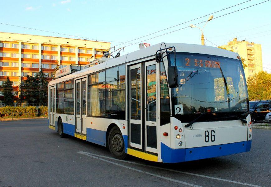 Тверскому троллейбусу — 50!