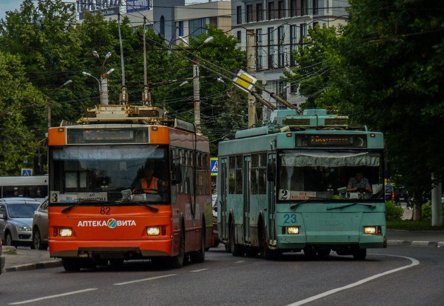 Троллейбусы 3 и 4 маршрутов временно ходят до 1-ой Горбольницы